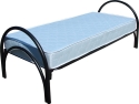 Металлические кровати для гостиниц, подсобок, больниц, школ.