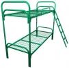 Металлические двухъярусные кровати, кровати для рабочих, низкие цены. - фотография №2