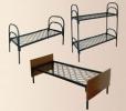 Кровати металлические двухъярусные, кровати для рабочих, кровати оптом - фотография №9