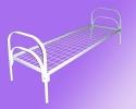 Кровати металлические двухъярусные, кровати для рабочих, кровати оптом - фотография №7