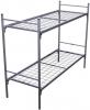Кровати металлические двухъярусные, кровати для рабочих, кровати оптом - фотография №10