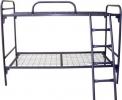 Кровати металлические для гостиниц, кровати для рабочих бригад оптом