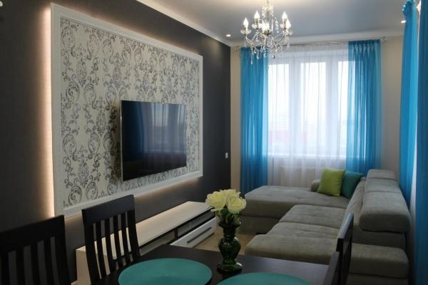 Посуточно шикарная двухкомнатная квартира в новом доме