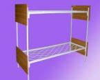 Металлические кровати для пансионатов, кровати армейские, оптом - фотография №4