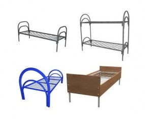 Металлические кровати для общежитий, кровати армейские, кровати оптом
