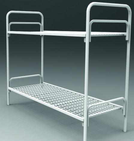 Кровати железные одноярусные для санаториев, кровати дёшево