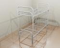 Кровати железные одноярусные для санаториев, кровати дёшево - фотография №3