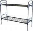 Кровати железные одноярусные для санаториев, кровати дёшево - фотография №5