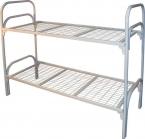 Металлические кровати для общежитий, кровати для интернатов - фотография №3