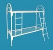 Кровати металлические для казарм, кровати двухъярусные для общежитий - фотография №2