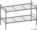 Кровати металлические от производителя, кровати оптом, кровати гост - фотография №3