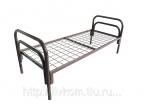 Кровати металлические крупный и мелкий опт, кровати для рабочих бригад - фотография №4
