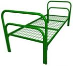 Кровати металлические крупный и мелкий опт, кровати для рабочих бригад - фотография №5