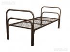 Металлические кровати для общежитий, кровати одноярусные, двухъярусные - фотография №8