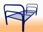 Металлические кровати для общежитий, кровати одноярусные, двухъярусные - фотография №9