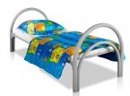 Металлические кровати для общежитий, кровати одноярусные, двухъярусные