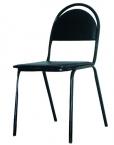 Стулья на металлическом каркасе, стулья изо, стулья армейские, табурет - фотография №5