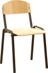 Стулья на металлическом каркасе, стулья изо, стулья армейские, табурет - фотография №6
