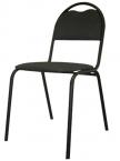 Стулья на металлическом каркасе, стулья изо, стулья армейские, табурет - фотография №3