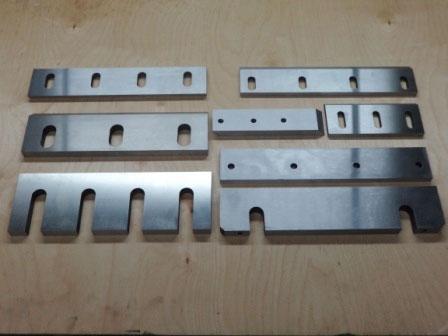 Ножи для пресс ножниц и дробилок. Ножи гильотинные  от производителя 6