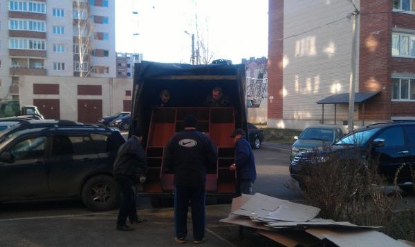 Квартирный переезд с грузчиками в Смоленске